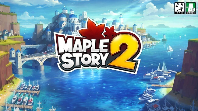 Best MMO and MMORPGs - maple story 2