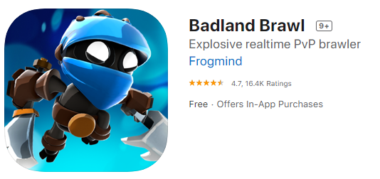 Badland Brawl game for iphone