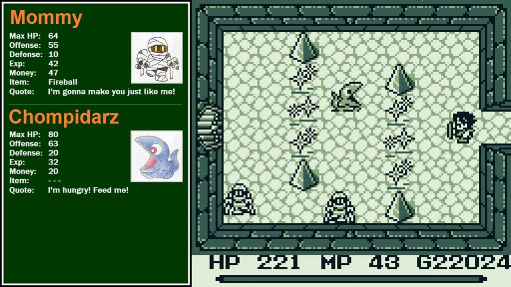 Final Fantasy Adventure 2 gameplay