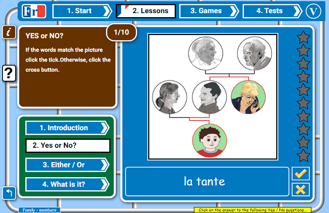 Games to Learn French